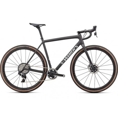 S-WORKS CRUX 2022 SATIN CARBON/SPECTRAFLAIR/GLOSS ABALONE