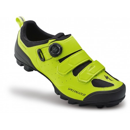 Zapatillas Specialized Comp MTB Black / Hyper Green