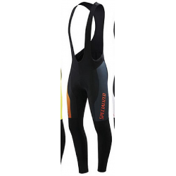 Culotte Specialized therminal pro racing cycling bib tight black orange